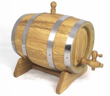 Small  wooden oak barrels 1L - 10L