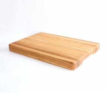 Thick oak cutting board